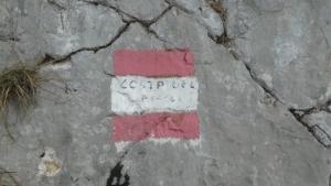Segnavia sentiero 984a del Pissol