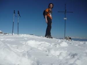 Autoscatto sulla cima del Col Cornier (1767 metri slm)