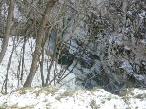 Pozza nel torrente Cunaz