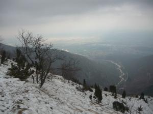 Finalmente si vede a valle il torrente Artugna