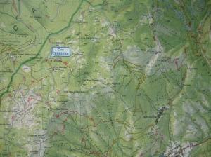 Mappa del giro