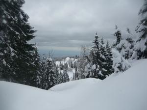 Neve pesante di rientro