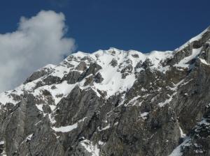 Accumuli sulla cima del Monte I Muri