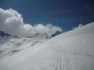 Cima Valgrande e dietro il Monte Laste