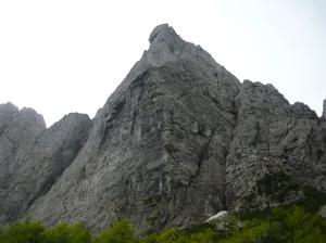Parete nord del Monte Sernio