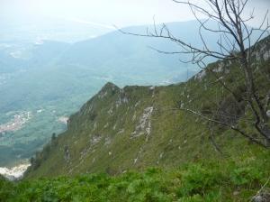 Inizio del sentiero CAI 973a da forcella Salinchieit