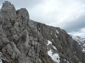 La cresta della Creta D'Aip