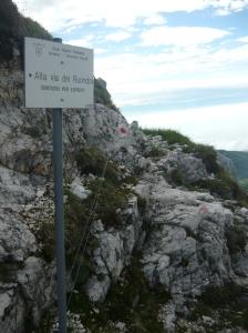 Attacco dell'Alta Via del Rondoi