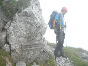 "Sentiero in cresta ""Via delle Trincee"""