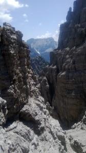 La valle dove correva il sentiero Tajariol