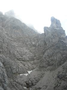 Le pareti ovest del San Sebastiano