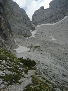 Pareti sud della cresta del San Sebastiano