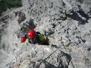 Punta Anna - ferrata Olivieri