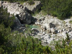 Pozze nel torrente Cimoliana