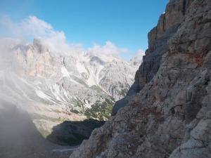 Usciti dal Castelletto, un panorama spettacolare