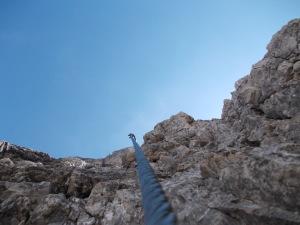 Dritto verso l'alto