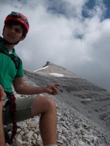 La cima della Tofana di Rozes