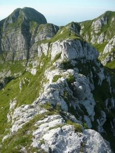 Passaggio delicato in cresta