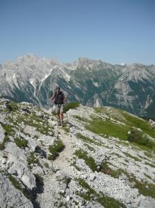 Verso il monte Ferrara