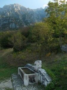 Da malga Cate, vista sul monte Messer