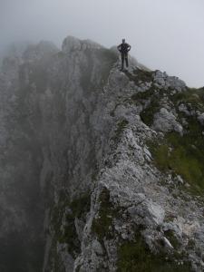 Subito dopo cima Pastour, vertigini vietate