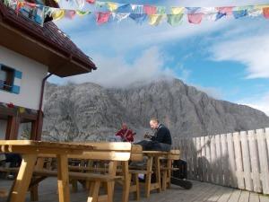 Rifugio, musica e montagne fantastiche