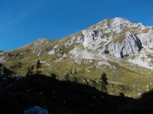Val Grande, vista verso il monte Caulana