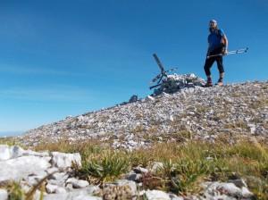 Cima Caulana, 2069 metri slm