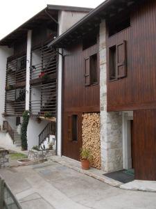 Tipica abitazione ad Andreis