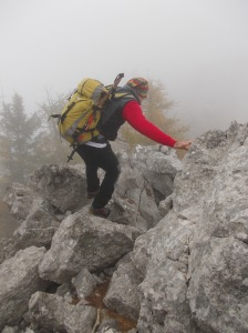 Qualche passo sulle rocce