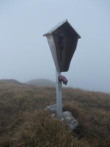 Cima del Rodolino, 1700 metri slm