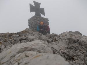In cima al Gartenrkofel, 2195 metri slm