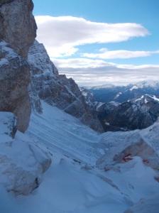Vista verso la Val d'Arcia