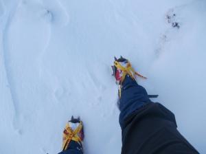 Ramponi e neve ottima