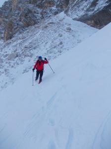 Si scende in Val d'Arcia