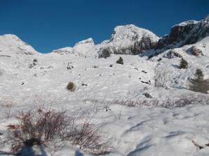Val Sughet con il Cimon del Cavallo e il Cimon dei Furlani