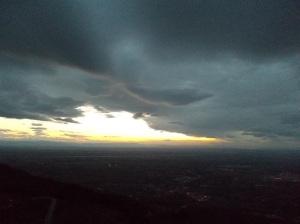 Luci fra le nuvole