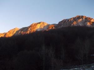 Monte Chiampon e monte Deneal