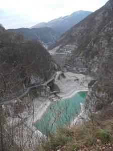 Diga e bacino di Ravedis