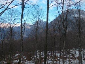 Il Raut e il monte Castello