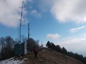Le troppe antenne sulla cima