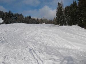Una pista da sci?