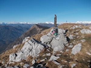 Cima del Monte Cuar, 1478 metri slm