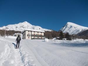 Albergo Basso del Mortirolo e il monte Pagano