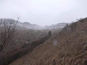 Il Torrione sotto la neve