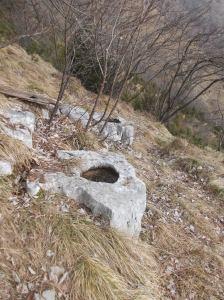 Abbeveratoi ricavati nella roccia