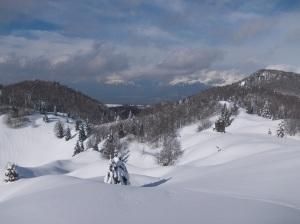 Panorama dell'Alpago