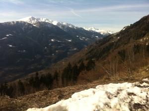 Vista verso la Val di Corteno e il monte Sellero