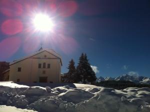 La chiesa di Trivigno