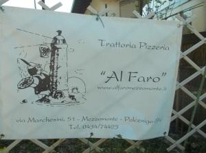 """Trattoria Pizzeria """"Al Faro"""""""